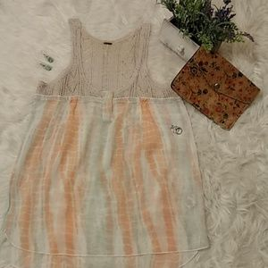 ANTHROPOLOGIE FREE PEOPLE WOMEN'S BLOUSE FC S: S